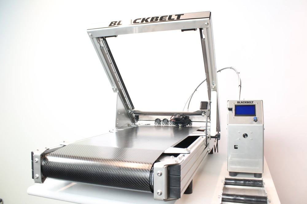 Blackbelt 3D Drucker in der Desktop-Version
