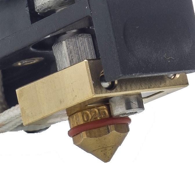 Ultimaker Printcore mit Silikonring