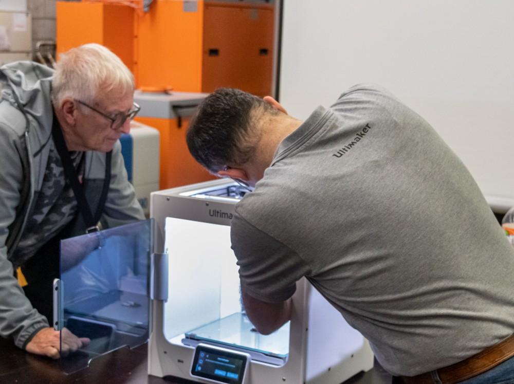 Workshop zur Wartung von Ultimaker 3 und S-Line Druckern