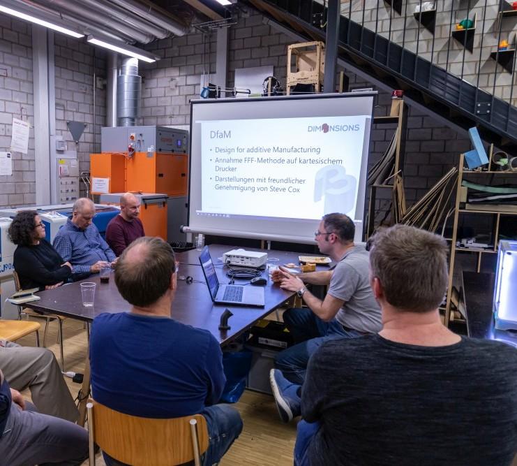 Workshop Design for additive Manufacturing