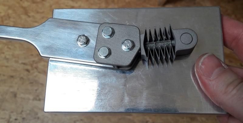 Beispiel eines Metalldrucks