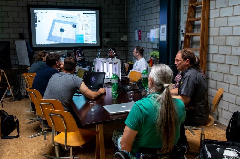 Workshop zum Dual Druck mit Cura und Ultimaker Druckern