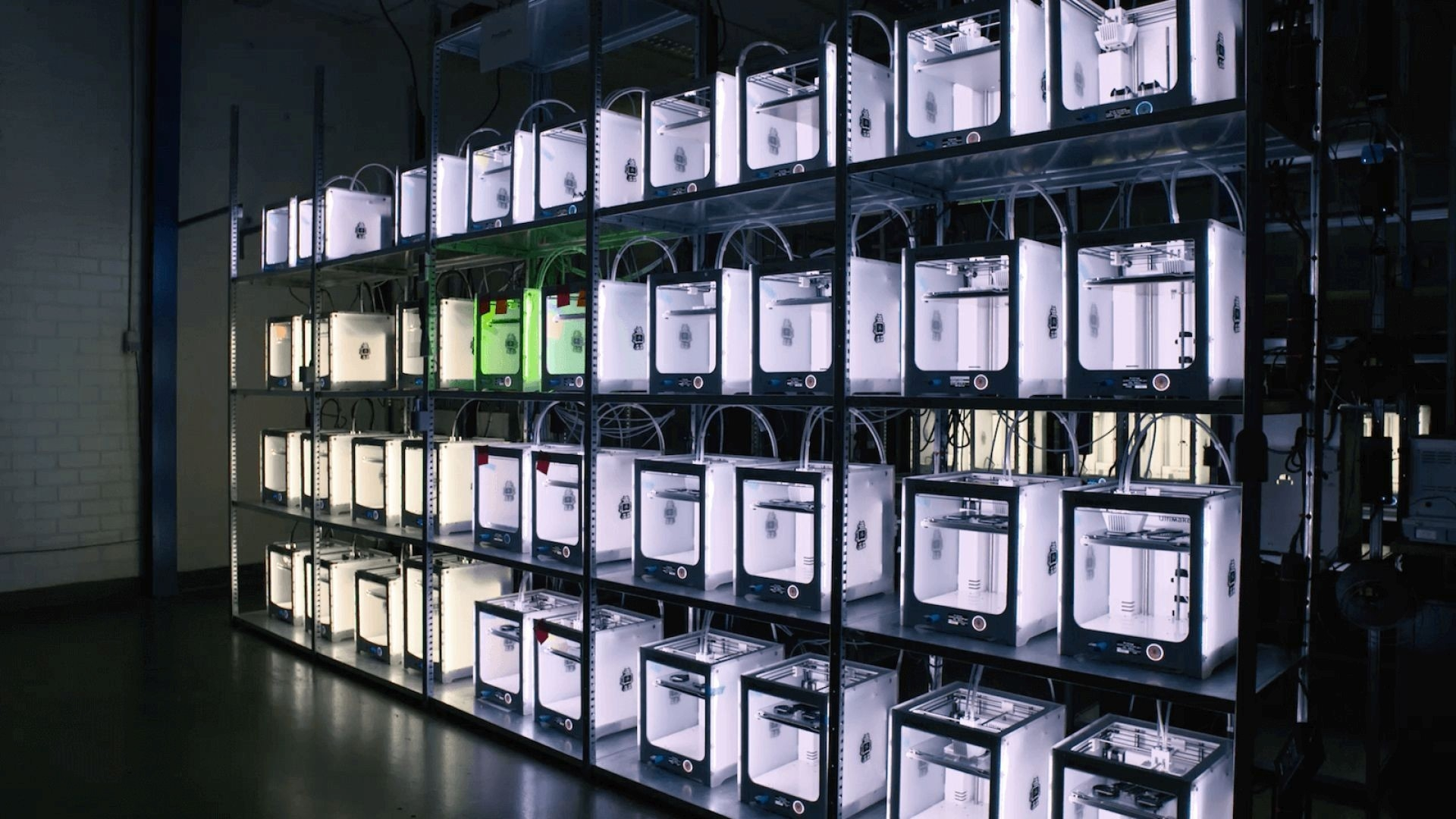 Ultimaker 3 Printer Farm