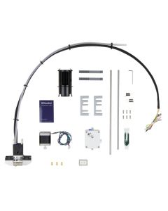 Die Upgrade-Teile des Extrusion Upgrade Kits inklusive Bowden Tube