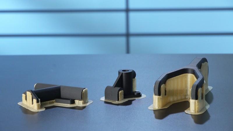 Diverse Druckobjekte mit Aquasys 120