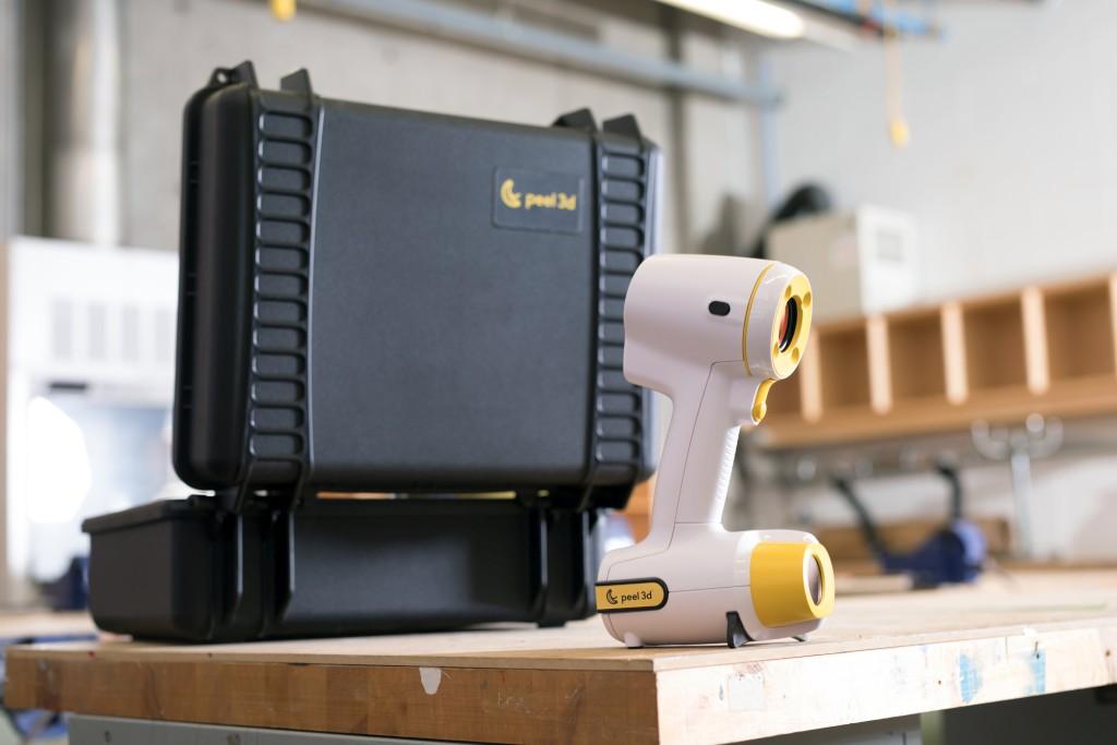 Peel1 3D Scanner und Koffer