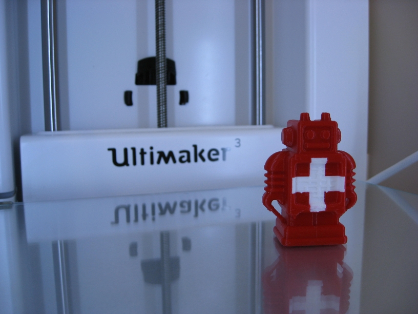 Swiss Ultibot on Ultimaker 3